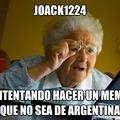 joack1224 es gei y si esto no sale de moderacion es su culpa