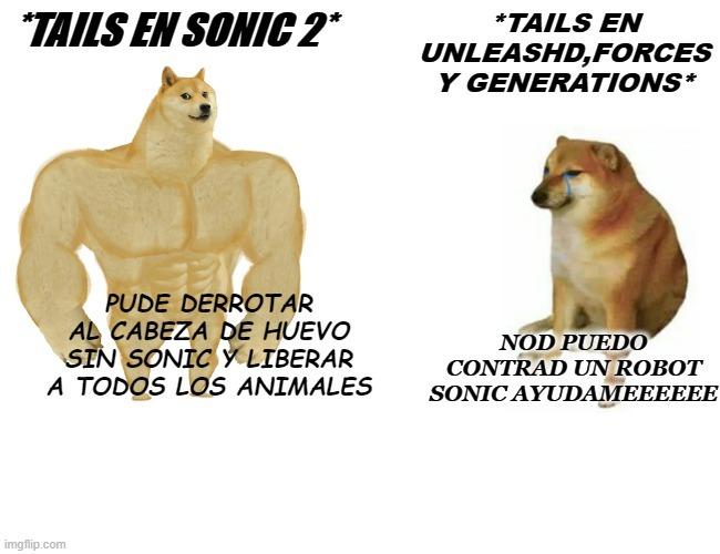 tails - meme