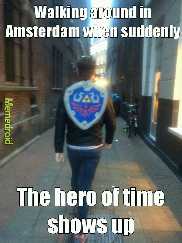 What a hero - meme