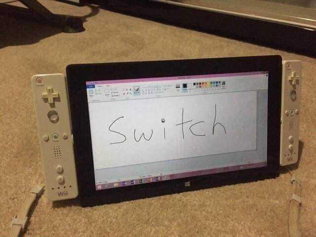 mi switch - meme
