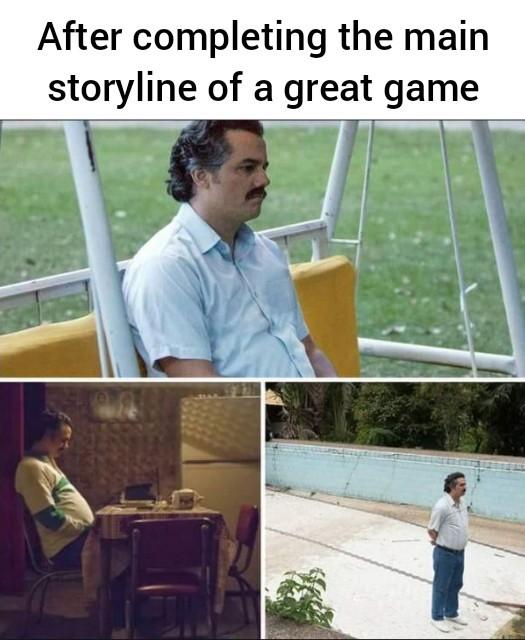Feels sad. - meme