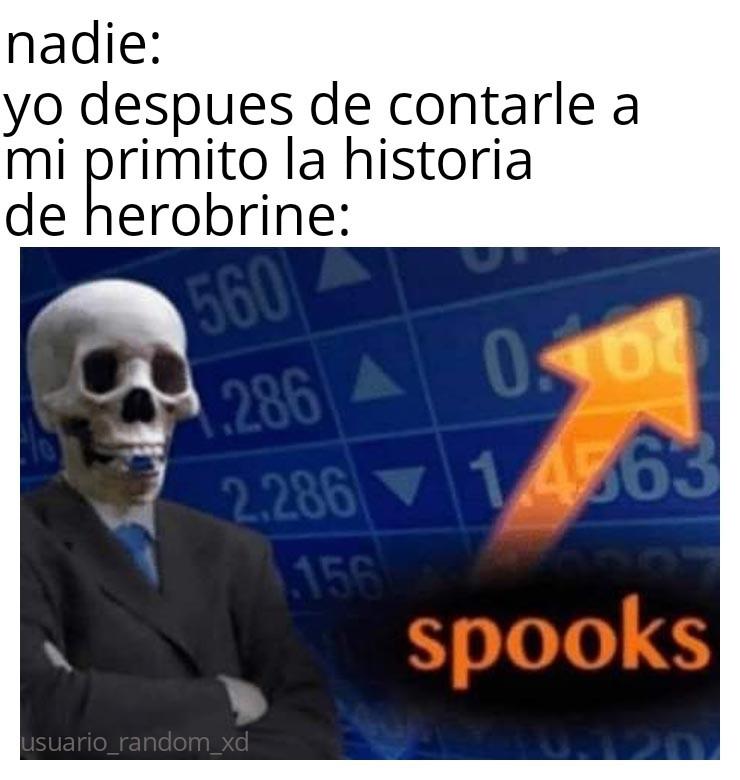 * c asusta * - meme