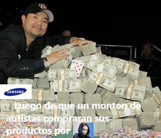 Enserio hay tantos tontos comprando productos de Samsung, solo por ella. - meme