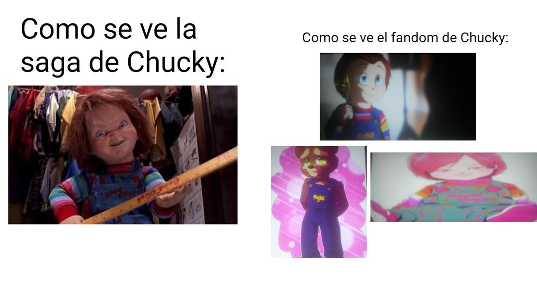 En serio, esto lo hizo el fandom de Chucky - meme