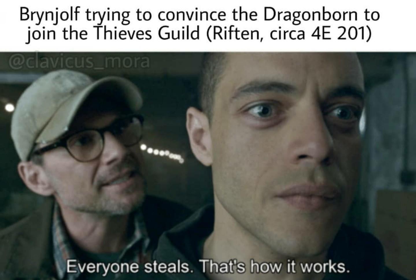 I ain't no thief - meme
