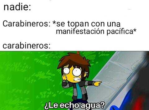 Chile esta que arde - meme