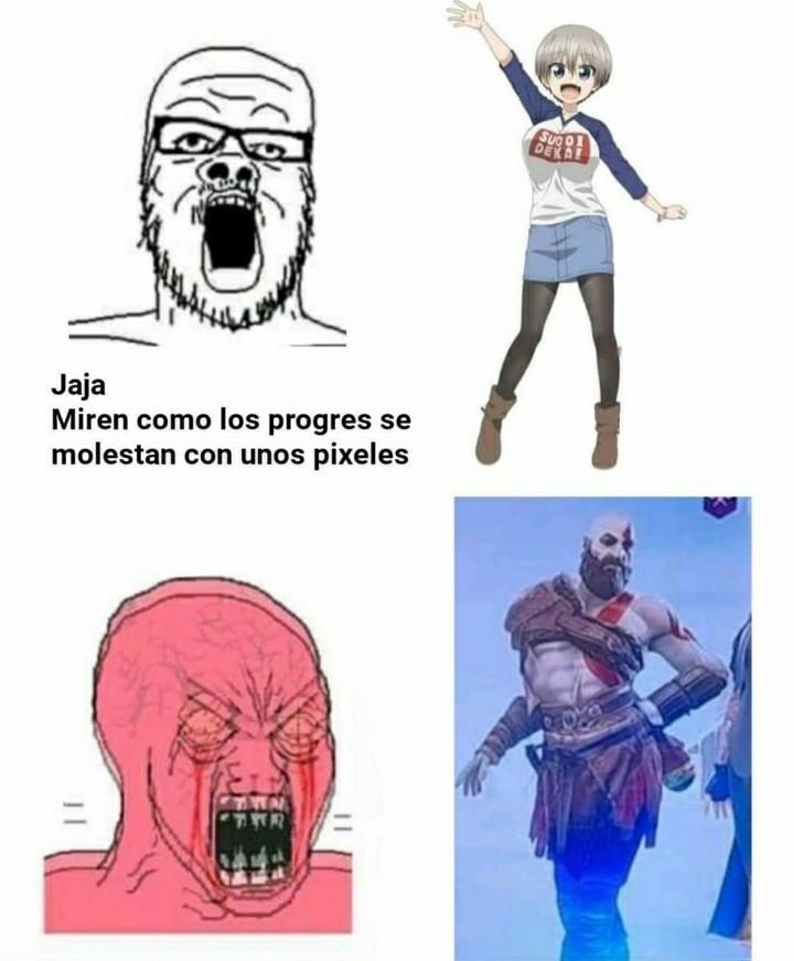 *se enoja - meme