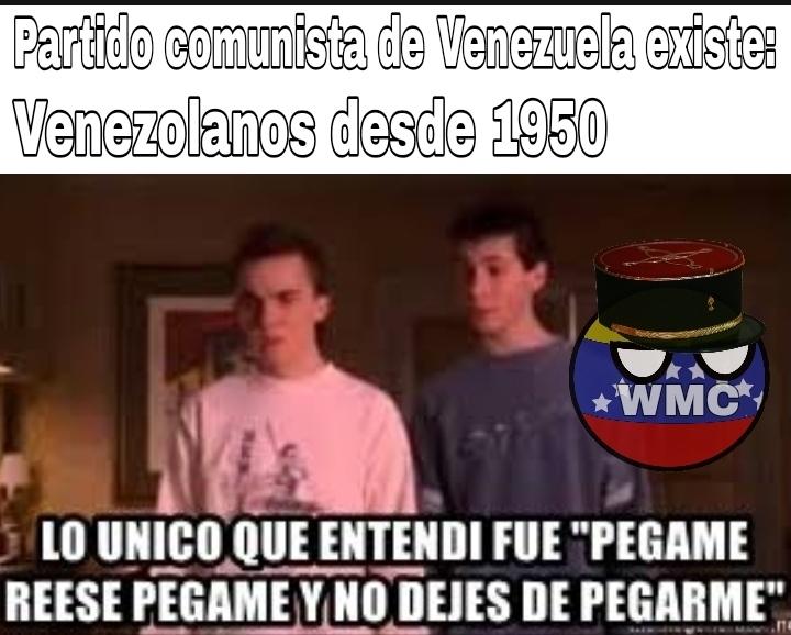 Hasta los Socialistas odian ese partido XD - meme