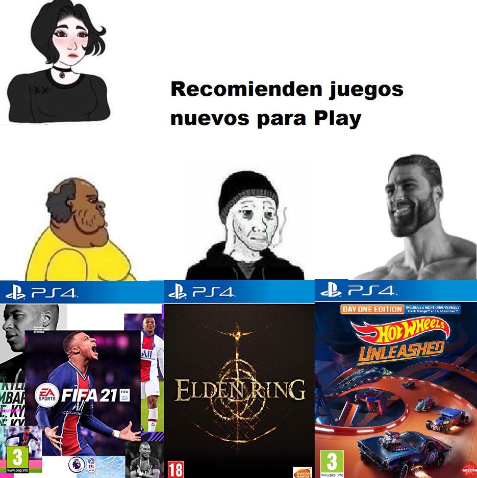 ¿Que juegos se van comprar? suponiendo que no sean pobres. - meme
