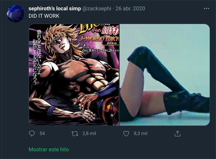 Dio el sexy - meme