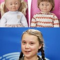 Baby dolls with Down Syndrome