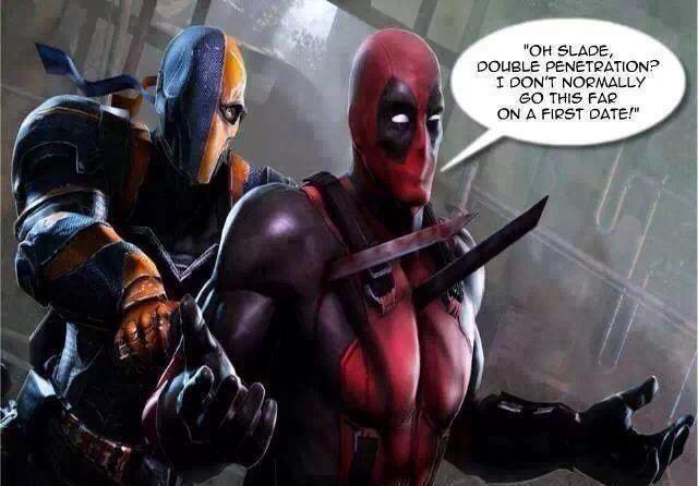 Deadpool or Slade? - meme