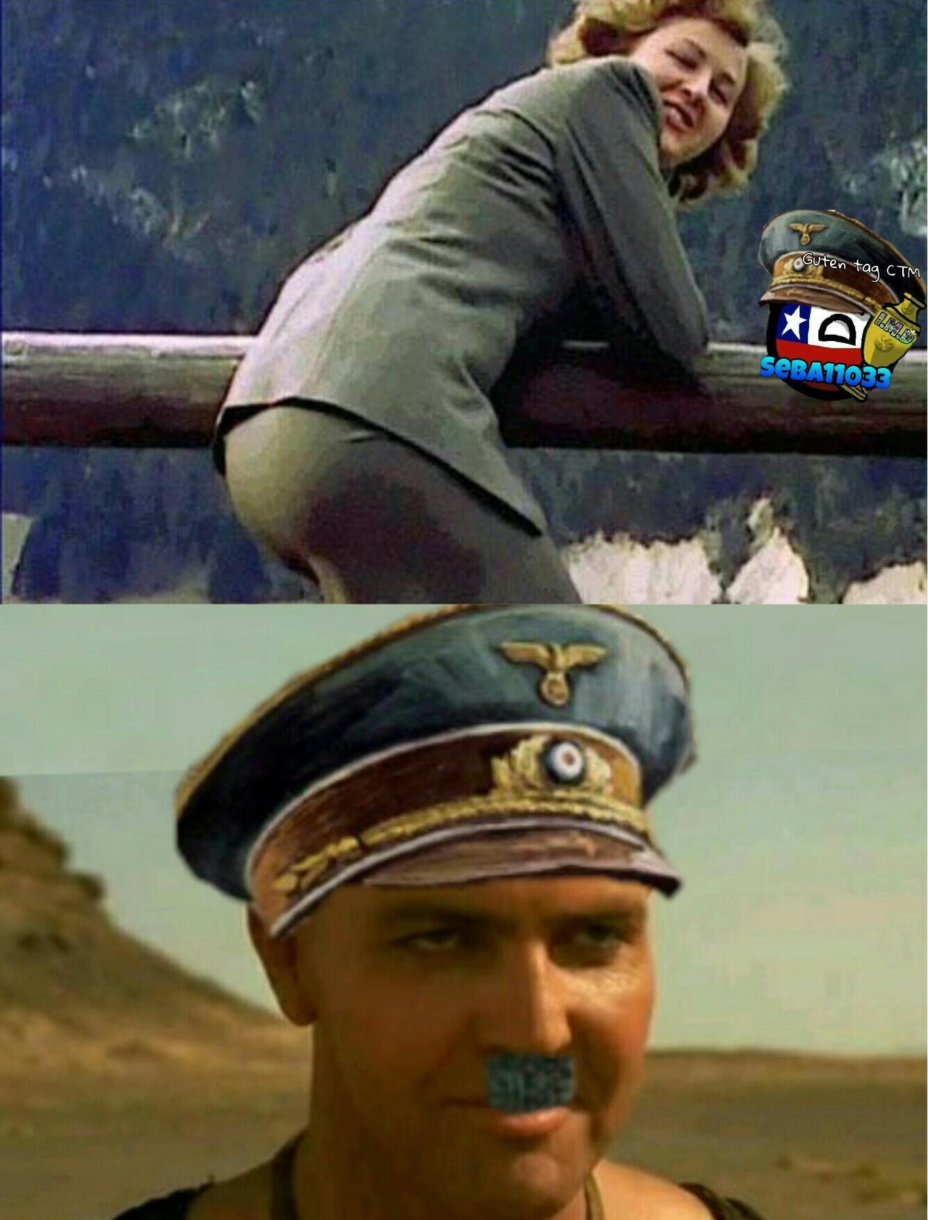 La sexy Eva Braun - meme