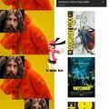 El hombre es Alan Moore, escritor de Watchmen, no le gustan las adaptaciones