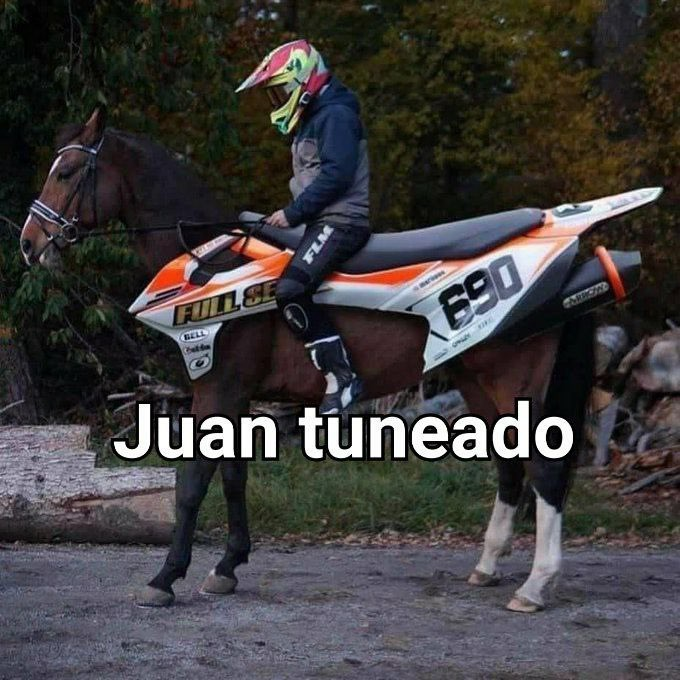Juan tuneado - meme