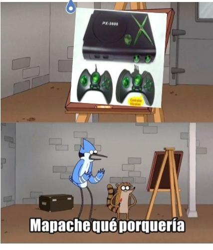 La copia del xbox - meme