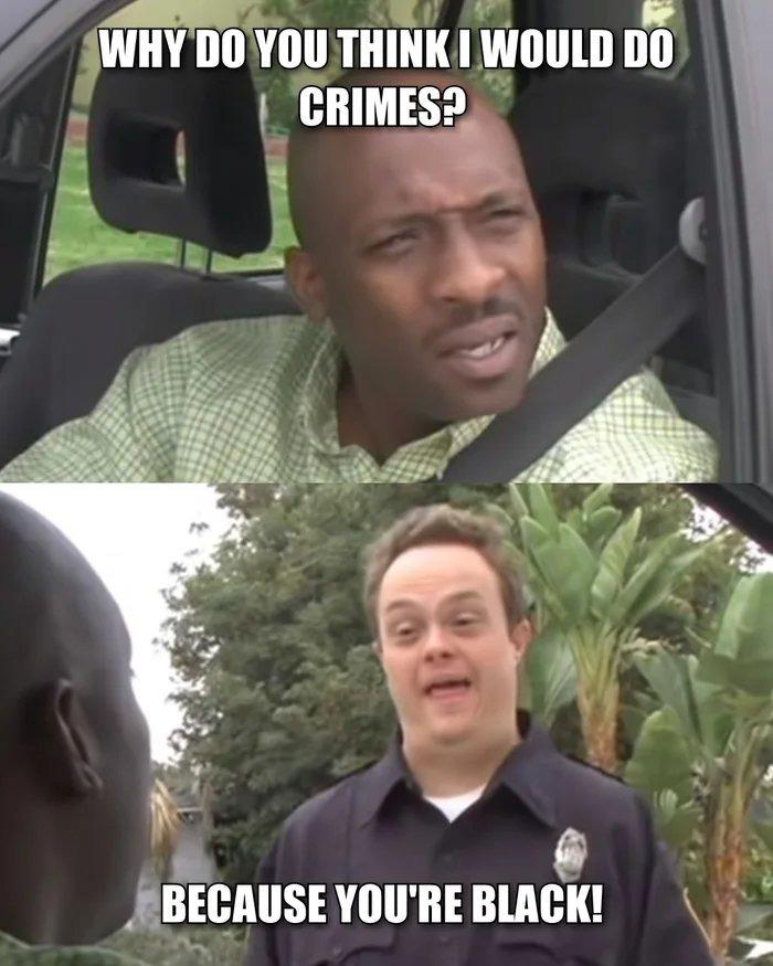 Officer down - meme