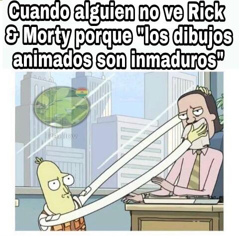 Rick & Morty - meme