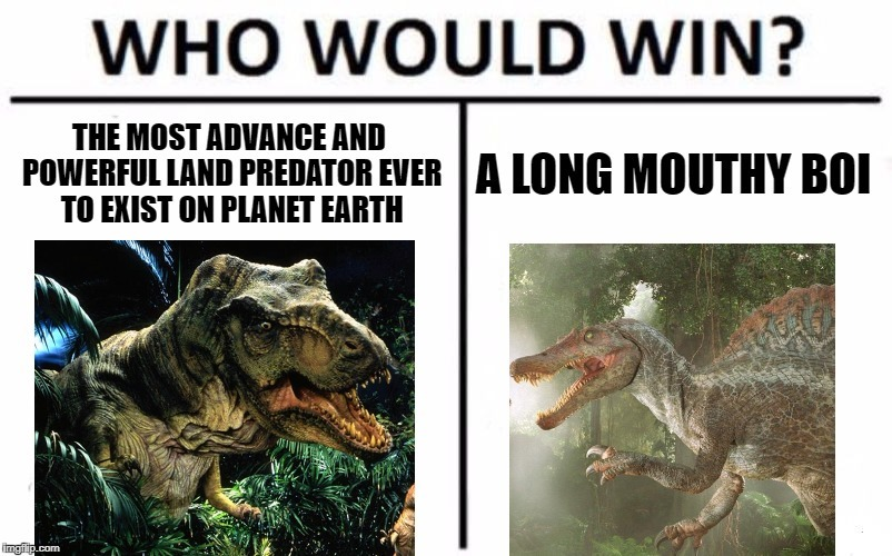 Jurassic Park 3 sucks - meme
