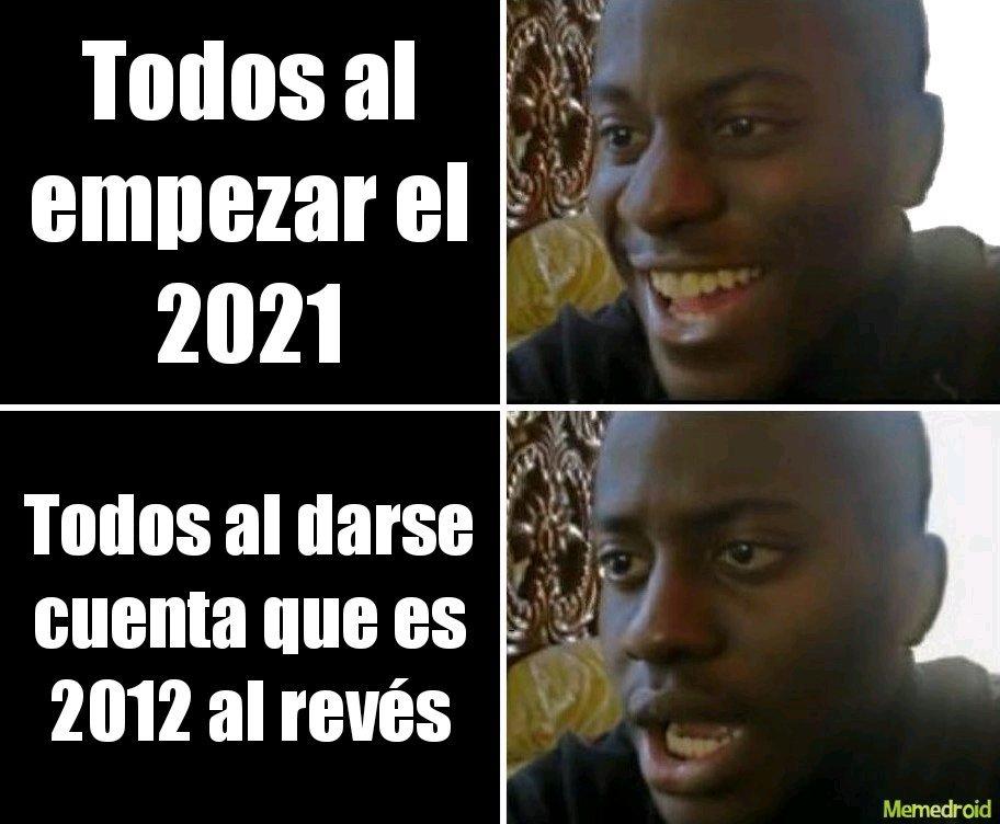 Contexto: se decía que el fin del mundo sería en  2012 según una profecía maya - meme