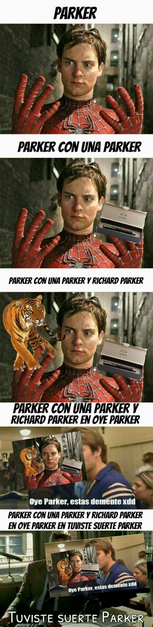 Donde estan las fotos Parker! - meme