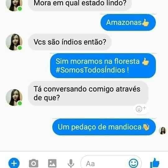 Mandioca phone - meme