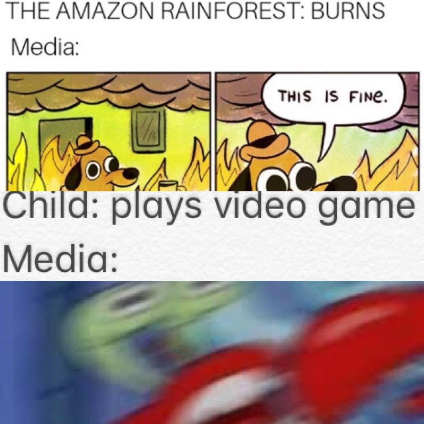 Angry Krabs - meme