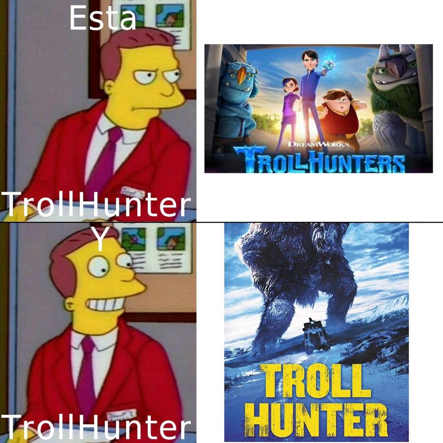 literalmente troll hunters guillermo del toro: reject you humaniti convert in furry - meme