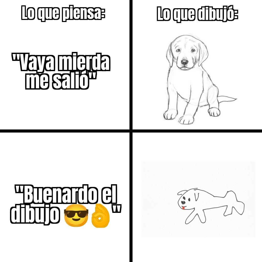 Buenardo el dibujo B) - meme