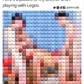 Legos was a real whore