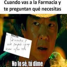 Letra de doctor - meme
