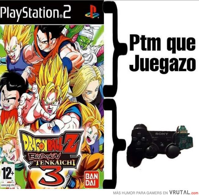 El mejor juego de Dragon Ball   DE la HISTORIA - meme