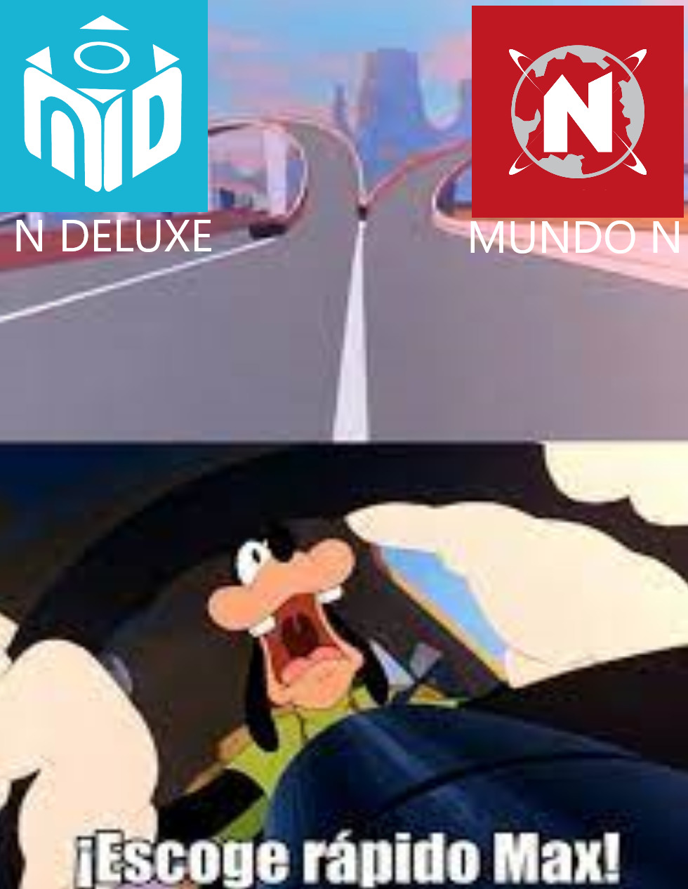Que ruta de videojuegos en youtube eliger - meme