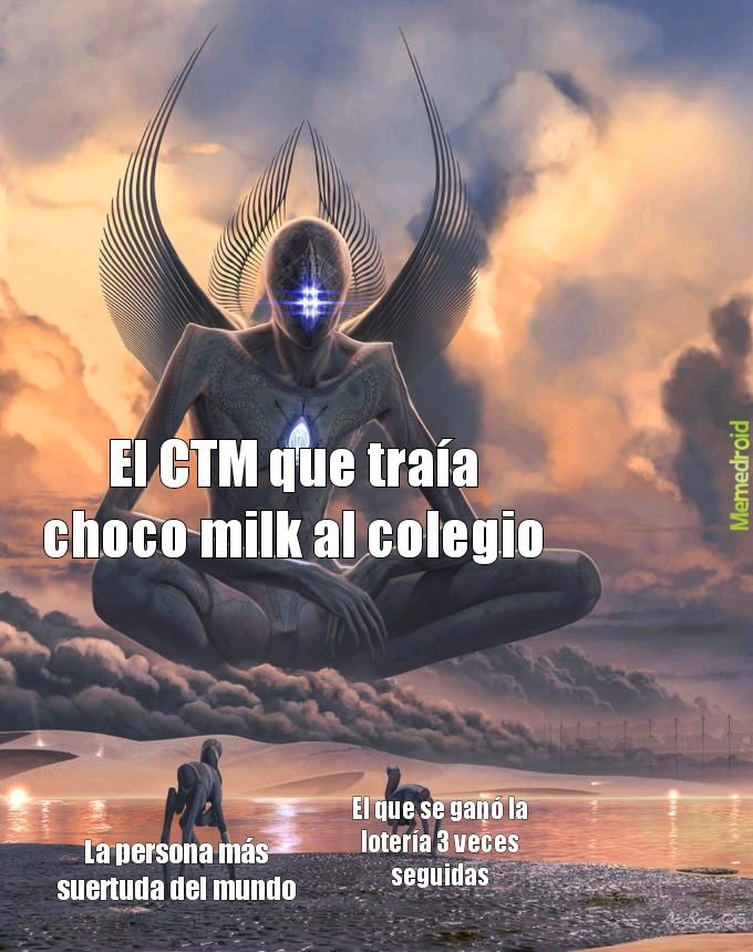 Que tu gfa te empacar choco milk era lo mejorrrr - meme