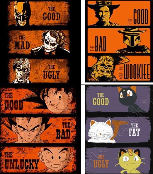 THE GOOD, THE BAD, THE JOKER - meme