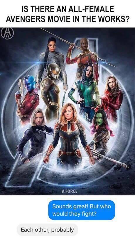 Avengers dissemble! - meme