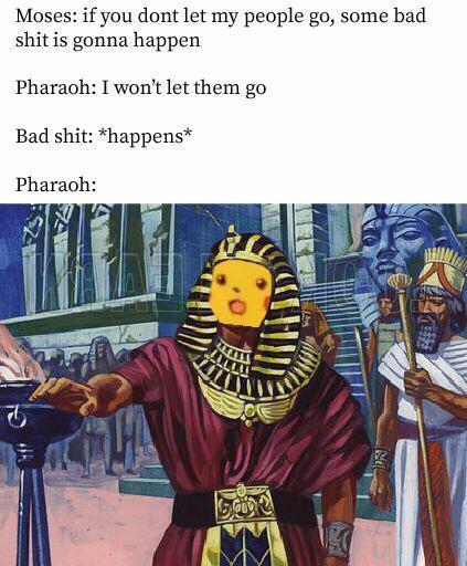 His son dies, so yeah - meme