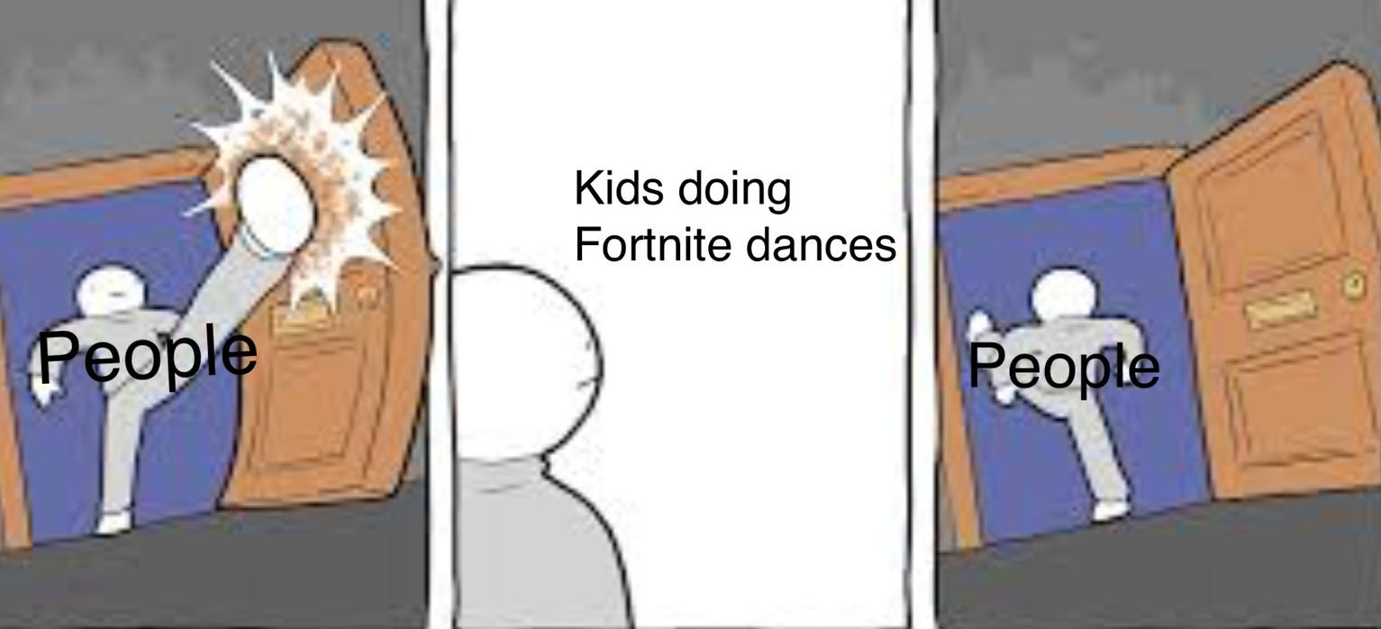 Fortnite dances - meme