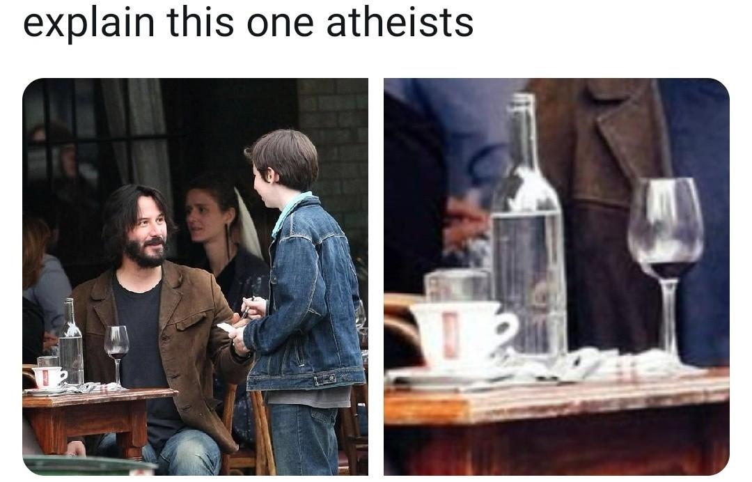 He's god - meme