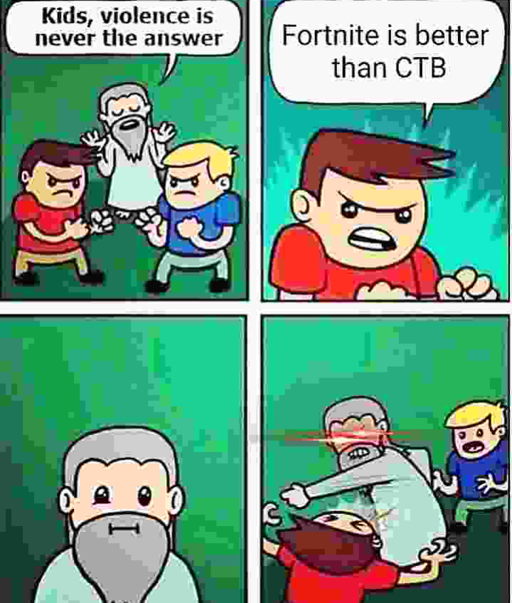Before you downvote CTB is a minecraft mod making it a WWII fps game its high quality too - meme