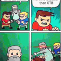 Before you downvote CTB is a minecraft mod making it a WWII fps game its high quality too