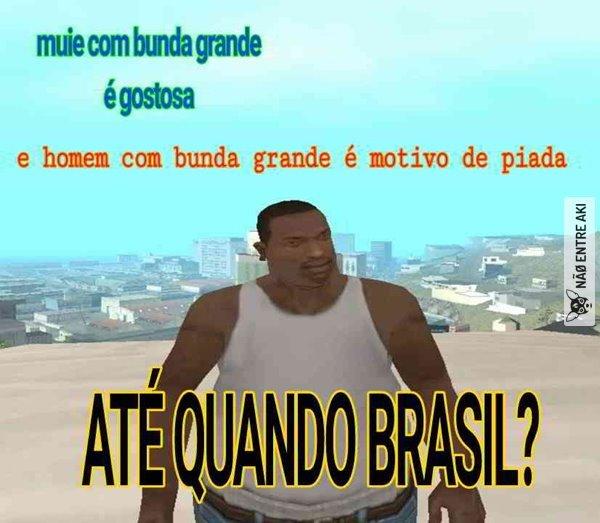 Até quando Brasil? - meme
