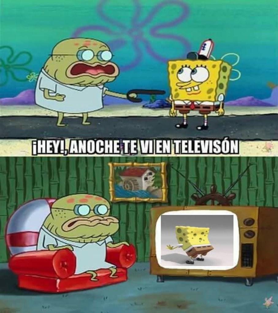 Bob esponjCHAD - meme