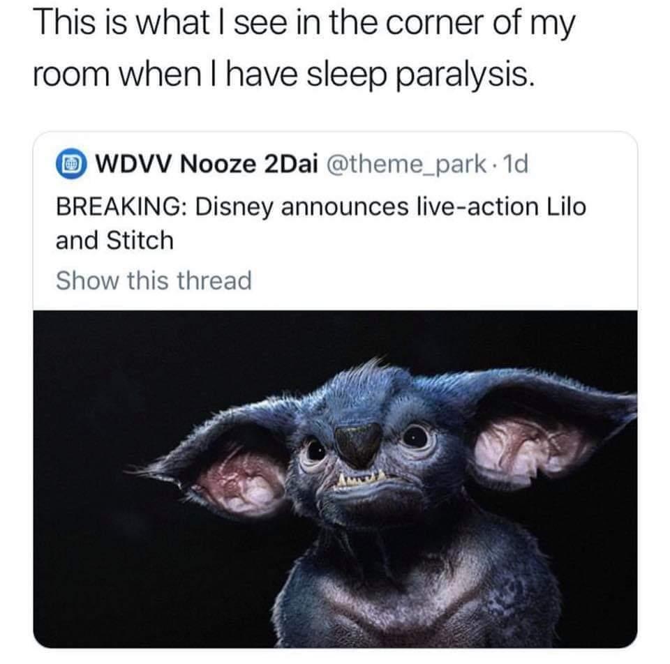 I'm scared - meme