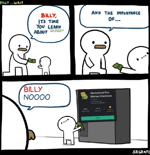 Como te vai a gastar 3€ en lo mismo - meme