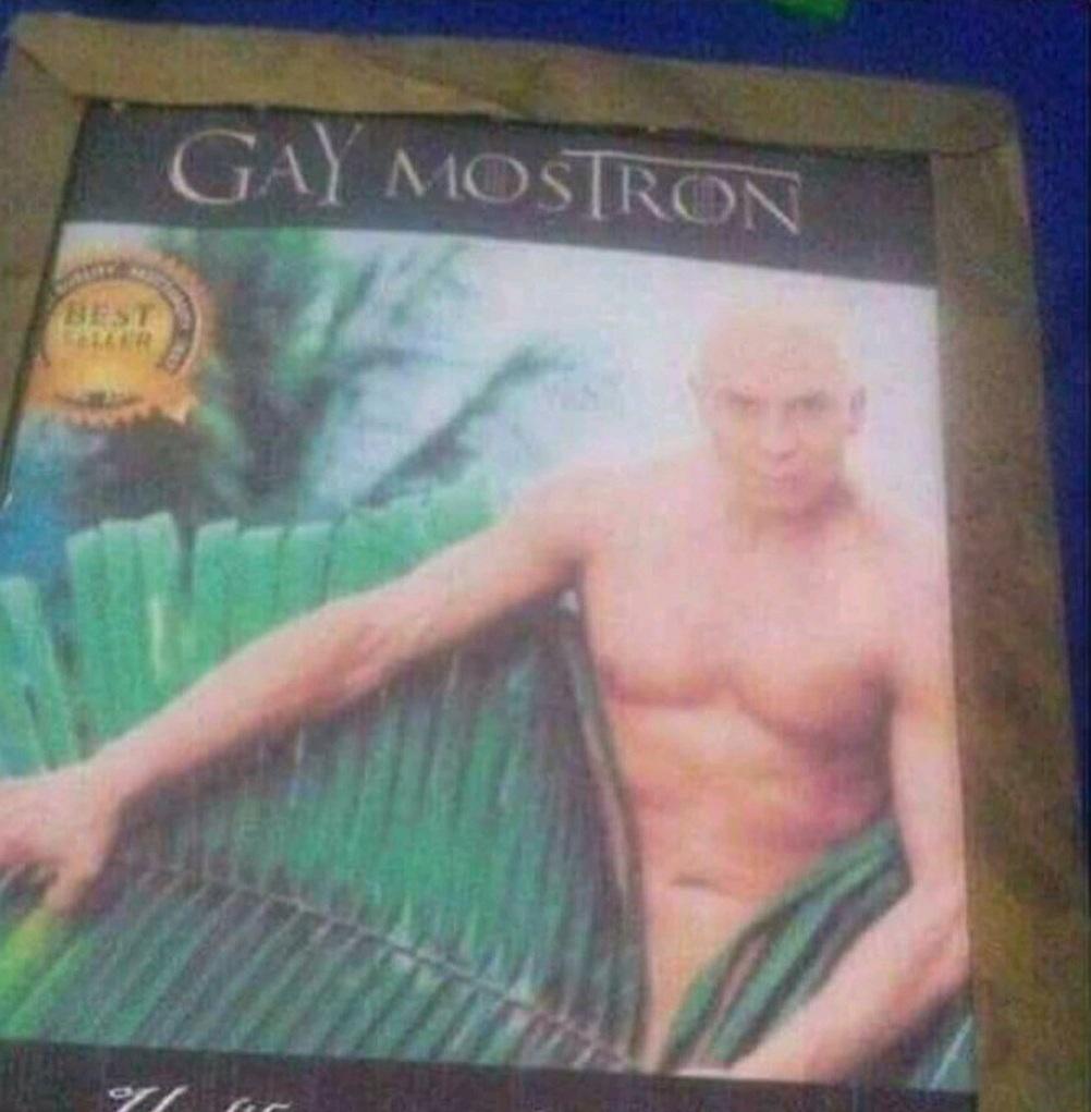 Gay Mostron - meme
