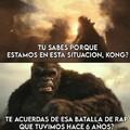 Lagarto tactico vs king kong