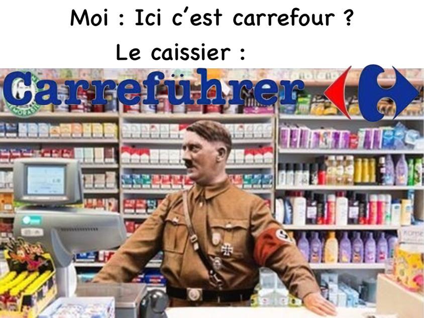 Vous verrez plus jamais Carrefour de la même manière - meme