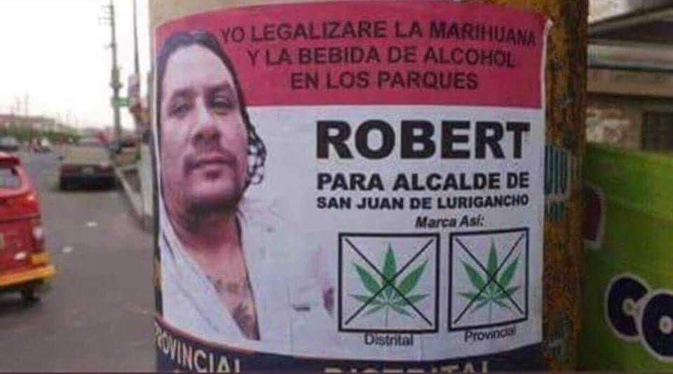 El candidato de mi amigo marihuano - meme