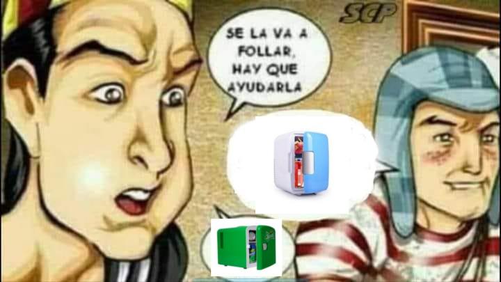 Mini heladera - meme